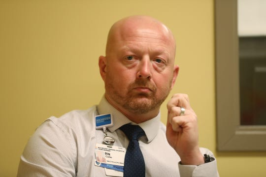 Colin Scantlin is the director of acute pyschiatric services for Rochester Regional Health.