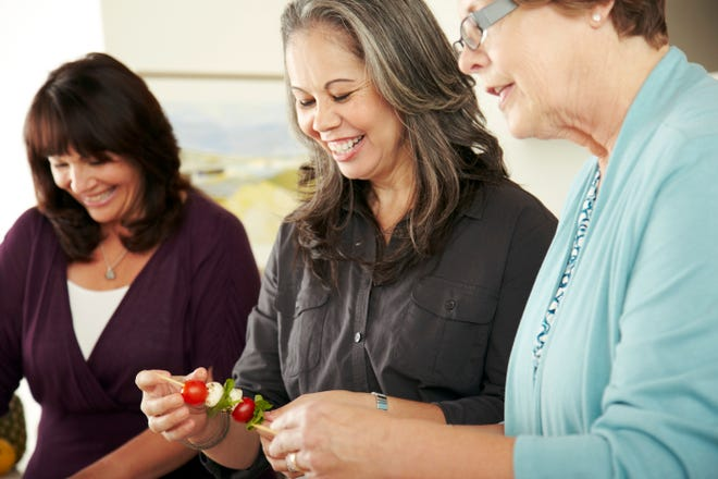 Swap out sugary snacks with healthy ones to keep from eating unhealthy foods.
