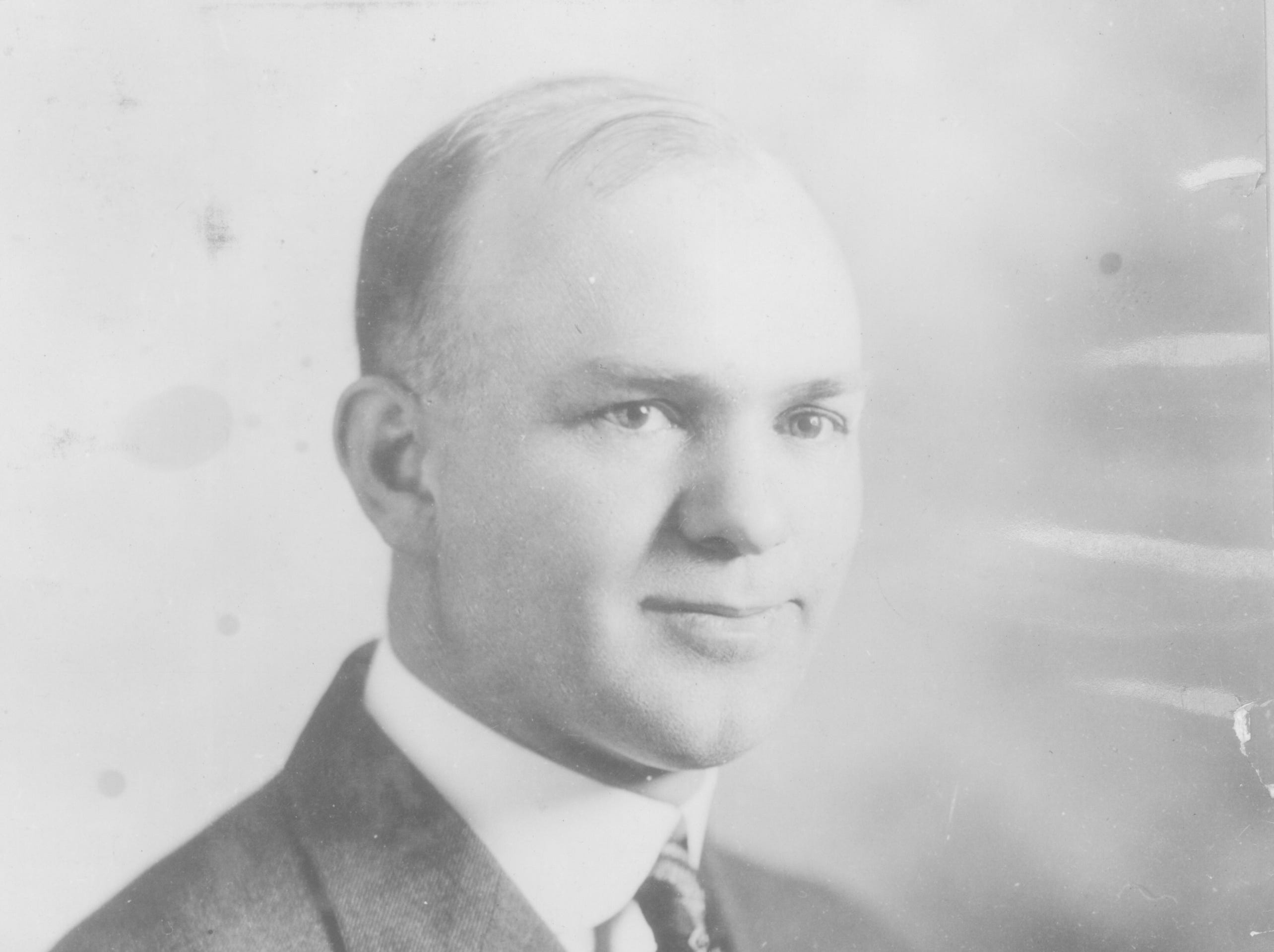 Dr. J. Edgar Purdy, in this photograph from the General Commission on Archives and History of The United Methodist Church, is believed to have been the spokesman for the group that protected the Japanese Community Church. He was the district superintendent for Methodist churches in Salem and a World War I veteran.