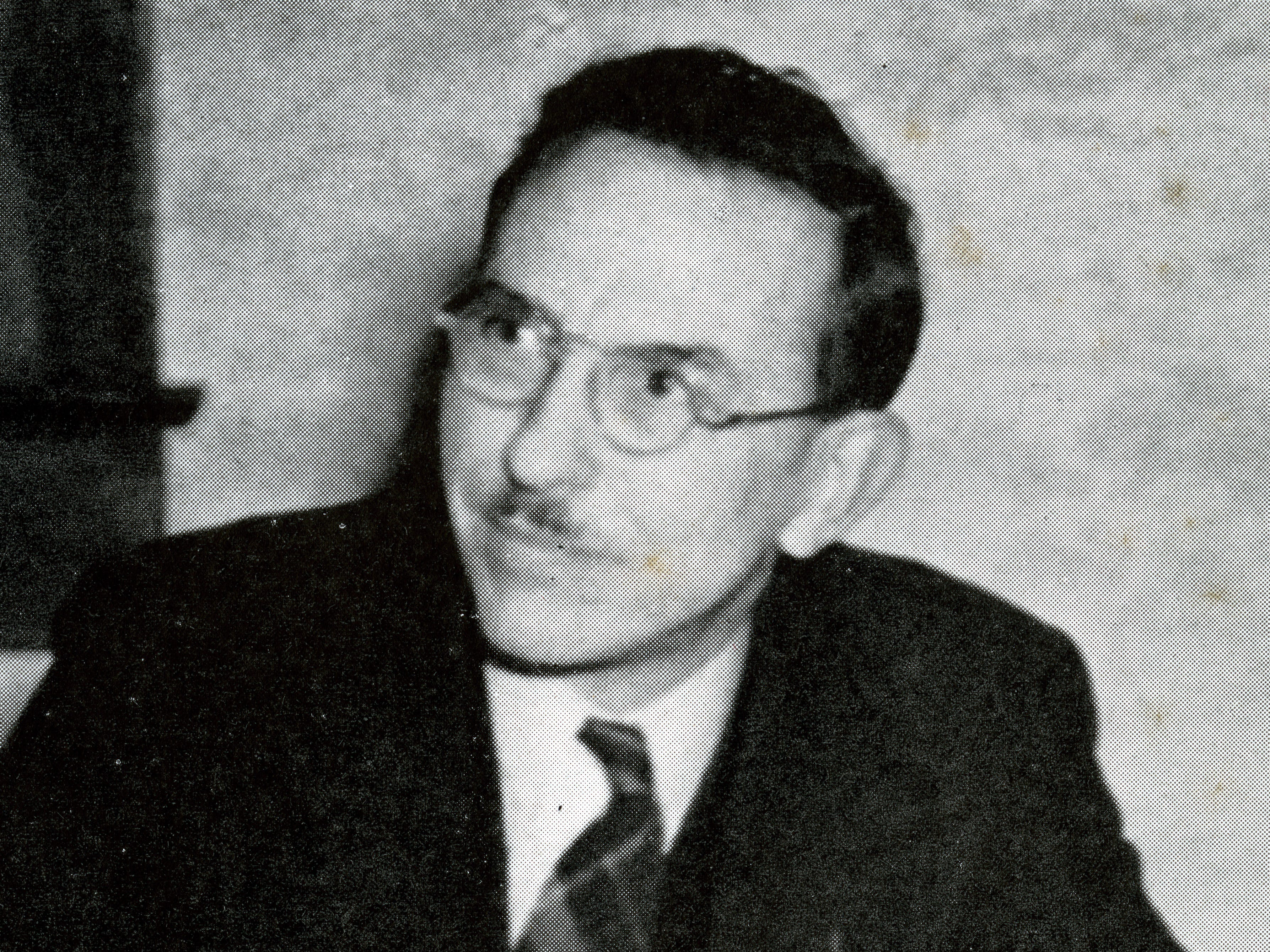 Dr. Carl Sumner Knopf, as photographed in Willamette University's Wallulah Yearbook in 1942. His name comes up as possible participant in the stand against an angry mob of townspeople to protect the Japanese Community Church the night Pearl Harbor was attacked.