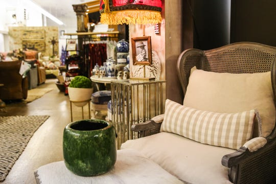 Unique furniture and decor are featured at If Walls Could Talk in downtown San Angelo.