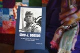 """Nancy Napier talks about the book, """"Cleo J. Dobson: U.S. Navy Carrier Pilot World War II, a Personal Account"""" Wednesday Dec. 5, in Sioux Falls."""