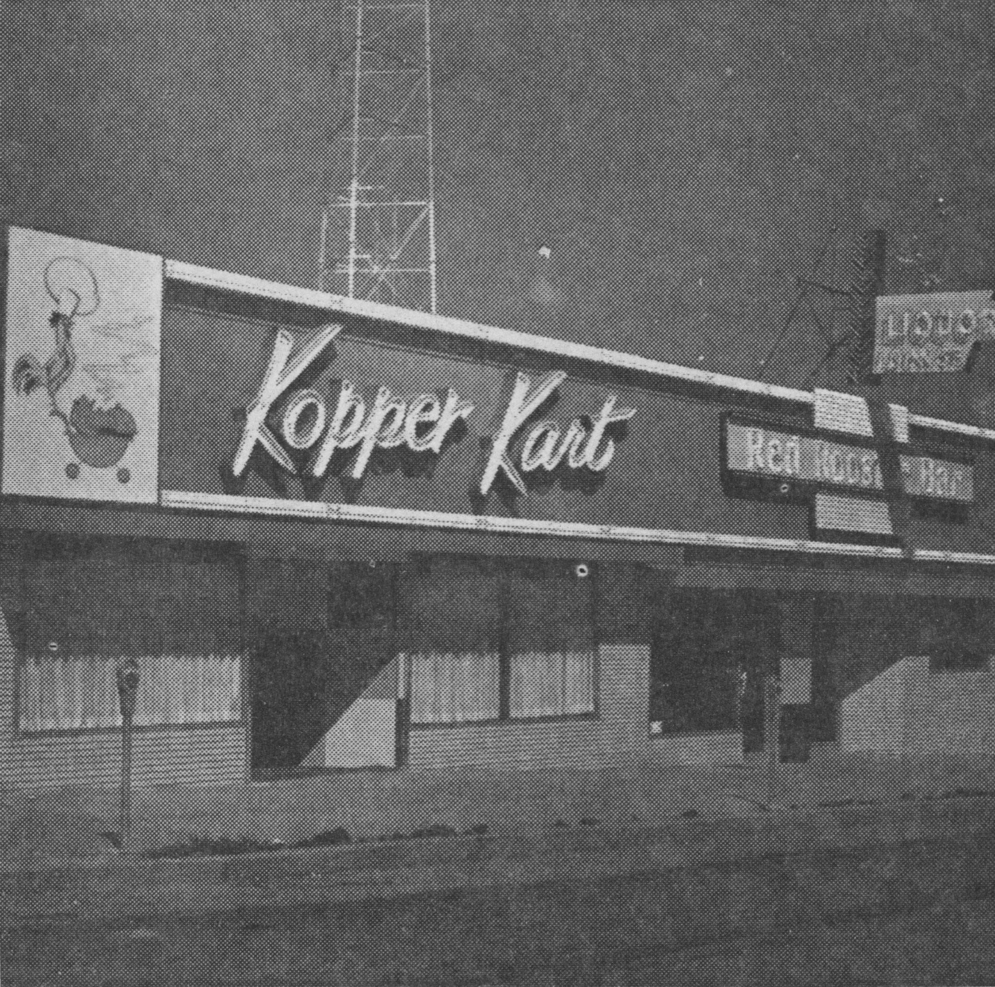 Looking Back: Kopper Kart was first restaurant in decades to serve food and alcohol