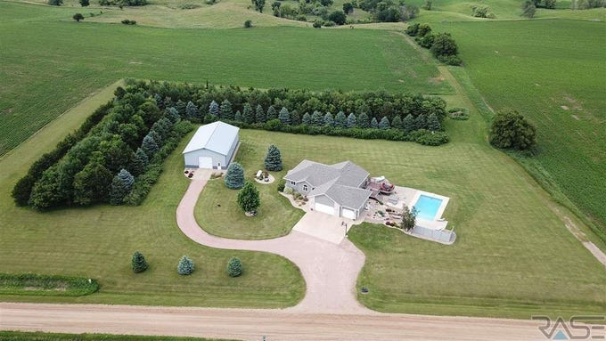 This 3,306-square-foot home in rural Baltic features an outdoor pool on an 5-acre lot. It sold for $550,000, topping the Minnehaha County home sales report for the week ending Sept. 14.