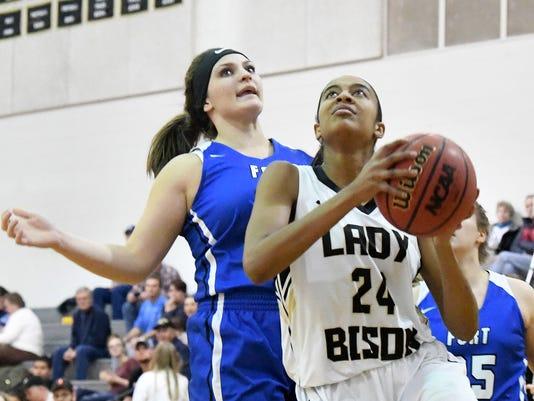 Fort Defiance At Buffalo Gap Girls Basketball