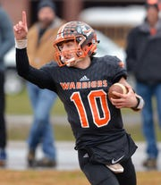 Chilhowie quarterback Zack Cale put his team on the road to a second straight state final appearance with his remarks after the Warriors lost to Riverheads in the 2017 state final.