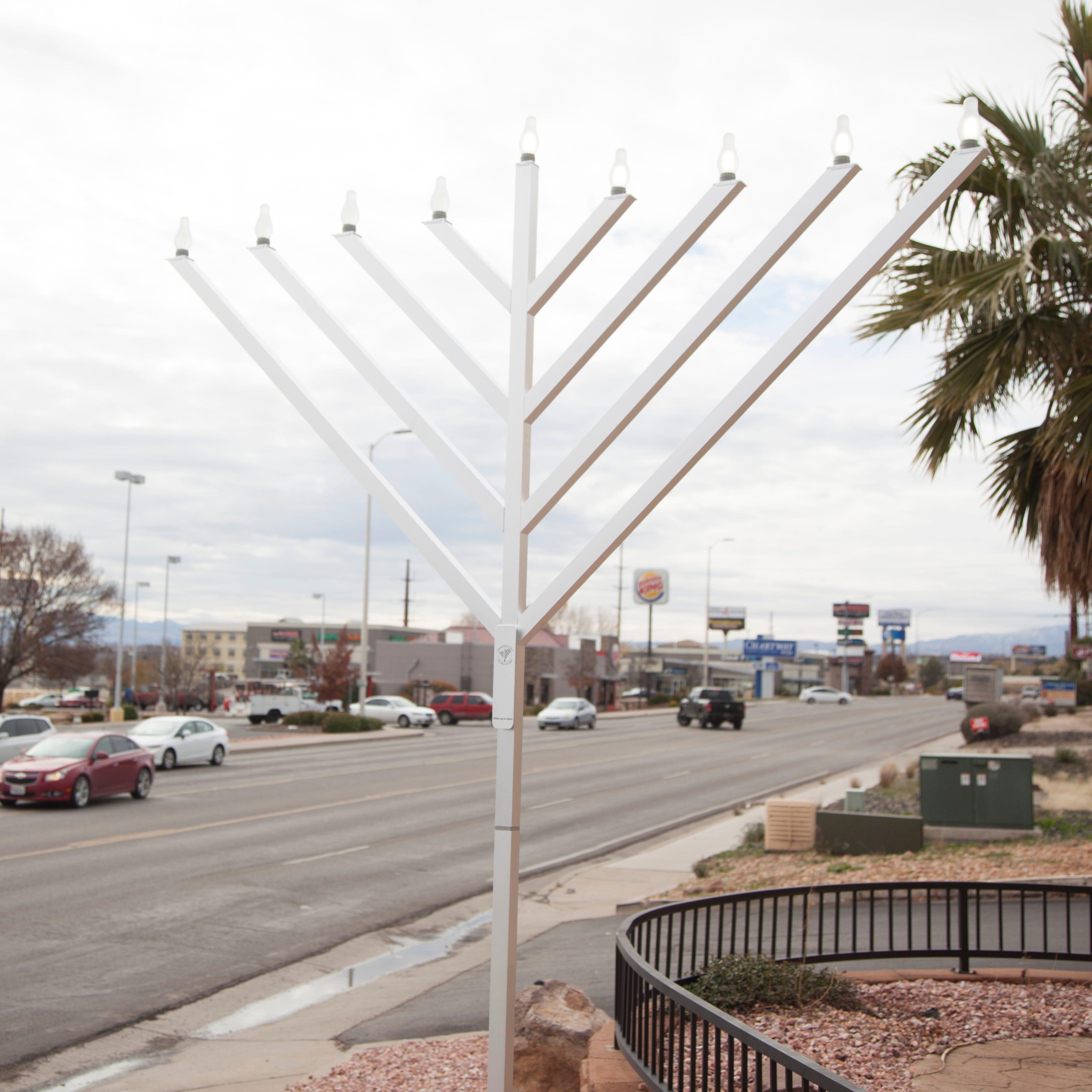 First public menorah lighting in St. George will feature Hanukkah food, games