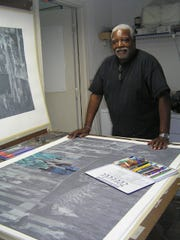 Kenneth Falana earned Professor Emeritus status in printmaking at FAMU before retiring in 2011.