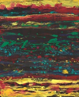 """""""Alien Landscape"""" by Kenneth Falana."""