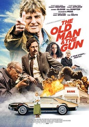 """Poster for movie """"The Old Man and the Gun."""""""