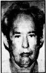 Forrest S. Tucker mugshot in 1999.