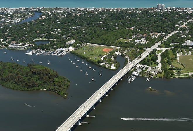 Vero Beach City Council is considering whether to lease the Vero Beach Municipal Marina, seen in this April 2016 file image, to a private corporation.