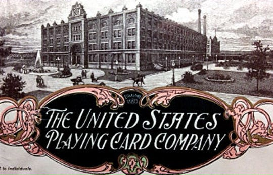 Anthony Russell's United States Printing Company achieved such success that a separate company was created for turning out playing cards.