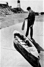 Boat used by Tucker to escape San Quentin in 1979.