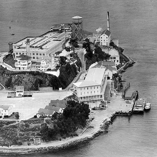 Alcatraz Prison – 'The Rock.'