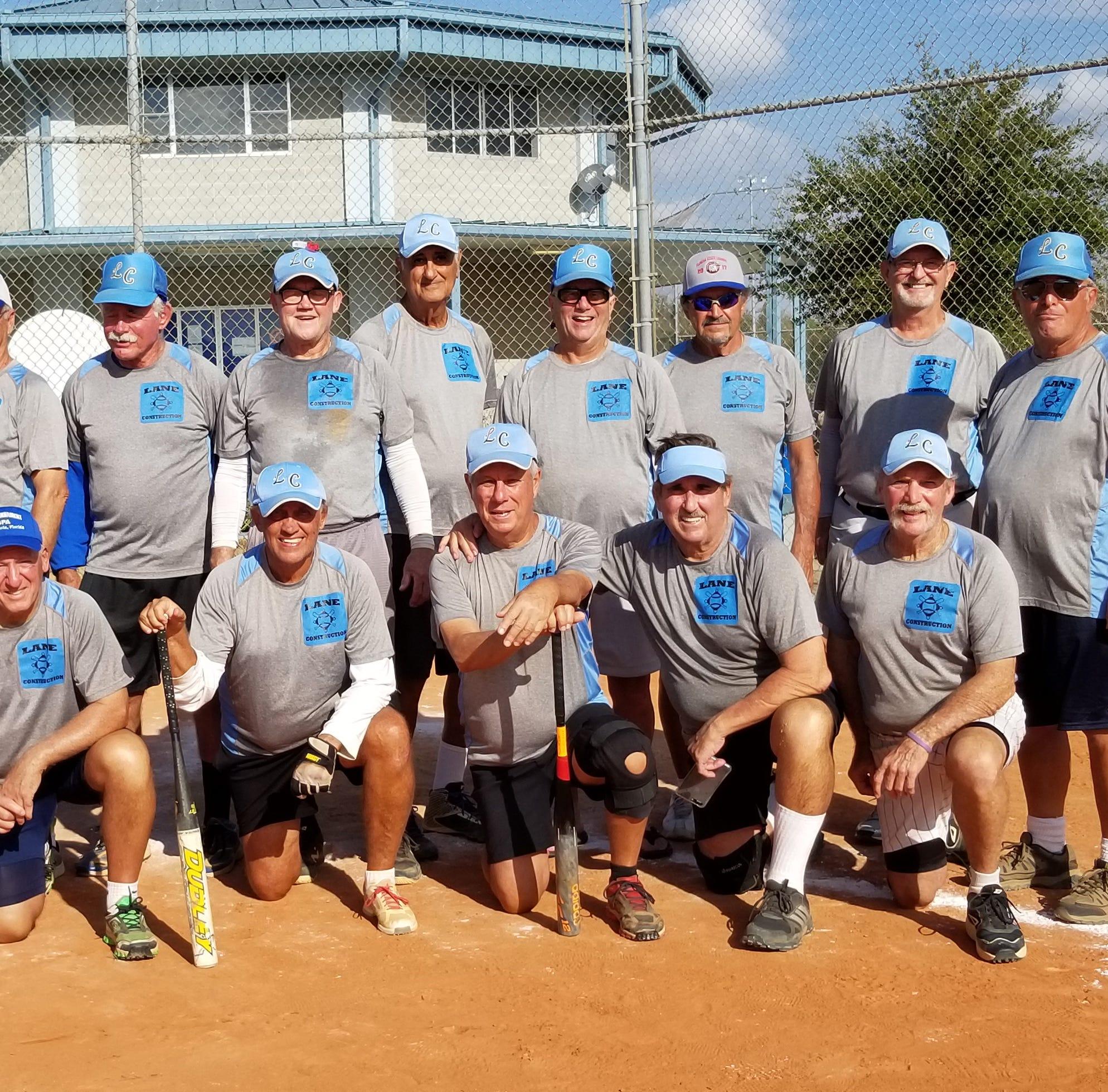 Lane Construction wins 3rd straight state softball title