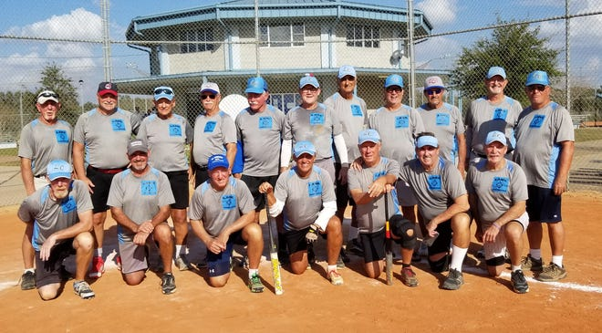 For the third consecutive year, the Lane Construction 70s softball team won its age group at the Florida Half Century state championships in Auburndale.