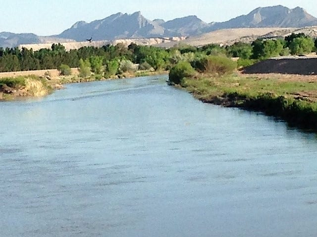 Water scarcity is a critical issue for New Mexico, Texas and Mexico, and the Two Nations One Water U.S.-Mexico Border Water Summit 2019 will address this challenge and more. Pictured is the Rio Grande.