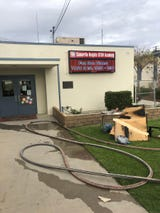 A fire at Camarillo Heighs STEM Academy led to the evacuation of students and employees on the afternoon of Dec. 6, 2018.