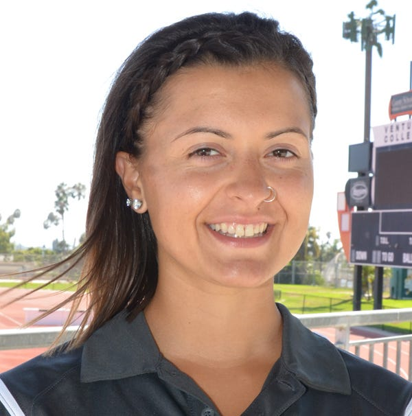 Cvijanovich carrying on her grandfather's local legacy with Ventura College football