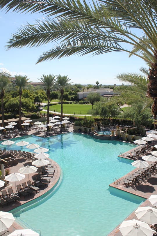 At the Fairmont Scottsdale Princess, guests can relax and enjoy any of the resort's six pools.