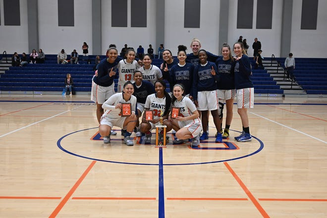 The COS women's basketball team won the 42nd annual Gilcrest Tournament after four tournament victories this past weekend.