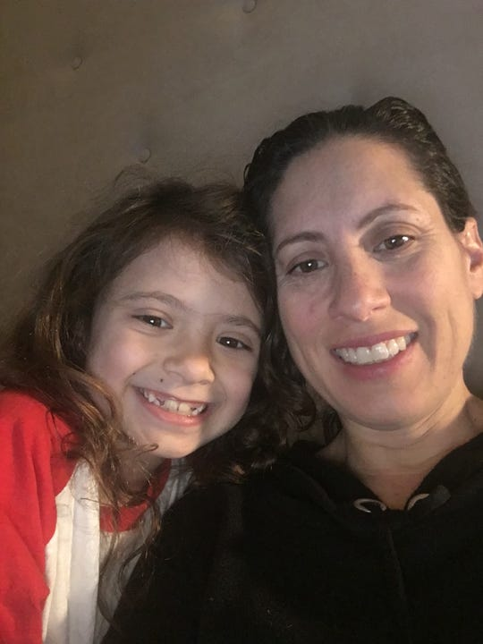 """Mackenzie Mercer and her mom, Shelly LeWinter, have been traveling companions for the past few weeks, as Mackenzie tours Chicago, Boston, and soon, Madison Square Garden, as Cindy Lou Who in """"Dr. Seuss' How the Grinch Stole Christmas: The Musical."""""""