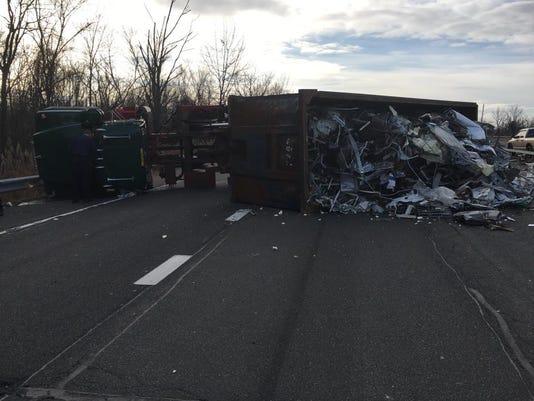 Clarkstown truck crash