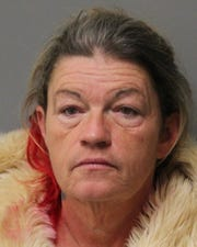 Christina Harvey, a 49-year-old from Dagsboro, has been charged by state police for burglaries from a Georgetown mobile home park.