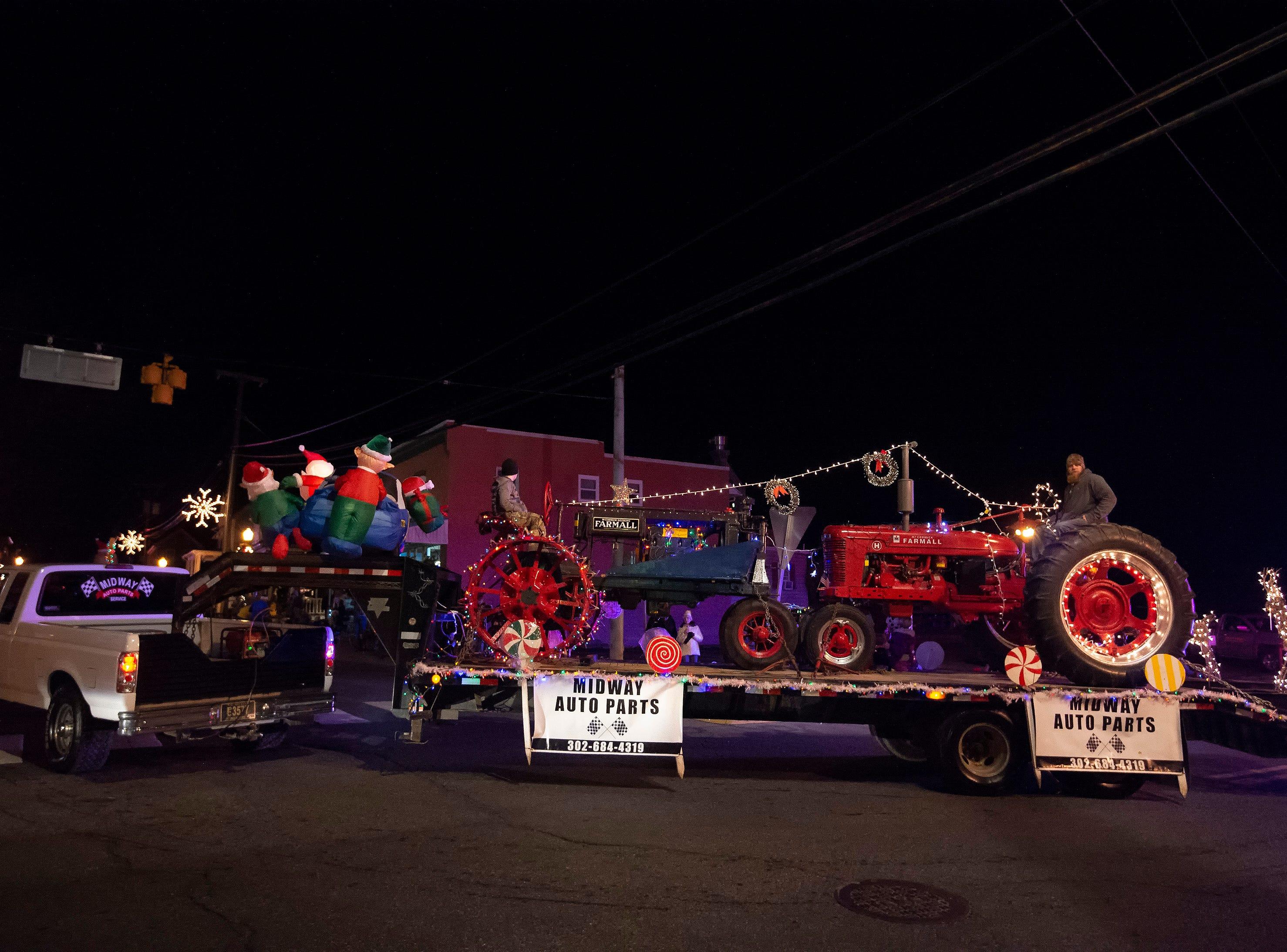 Milton Christmas Parade.