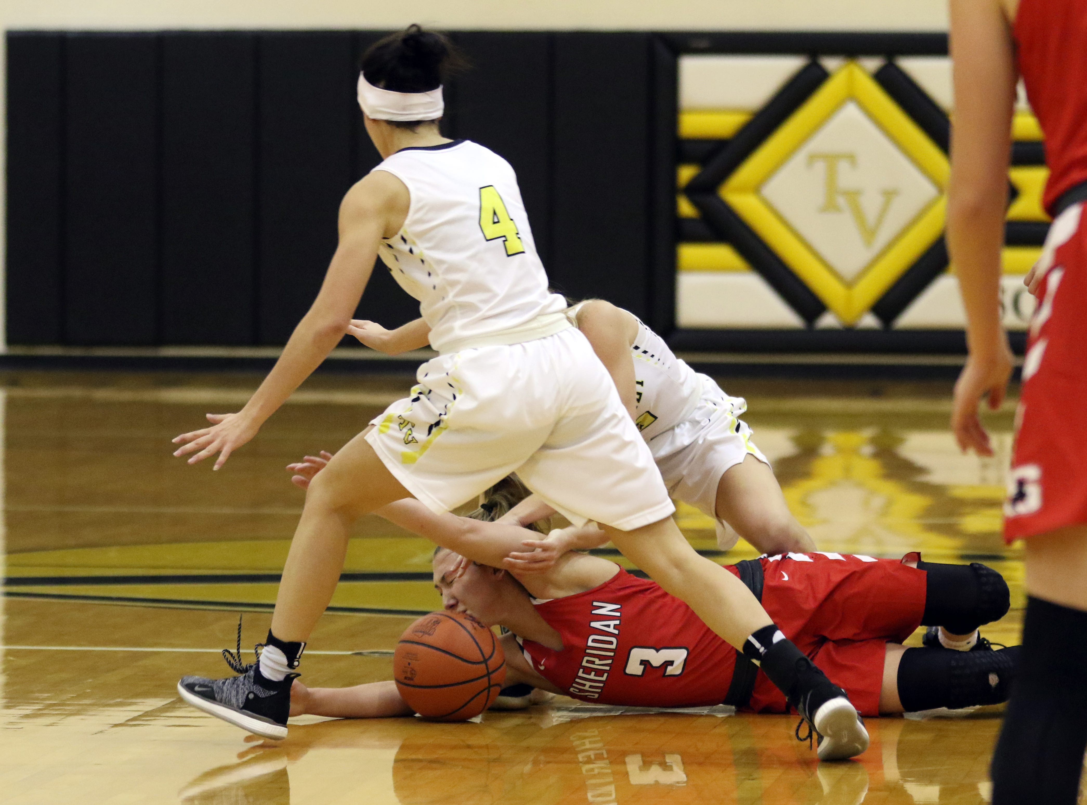 Tri-Valley rode their defense to a win over the visiting Sheridan Generals Wednesday night in Dresden.