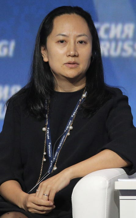 Meng Wanzhou China Huawei CFO