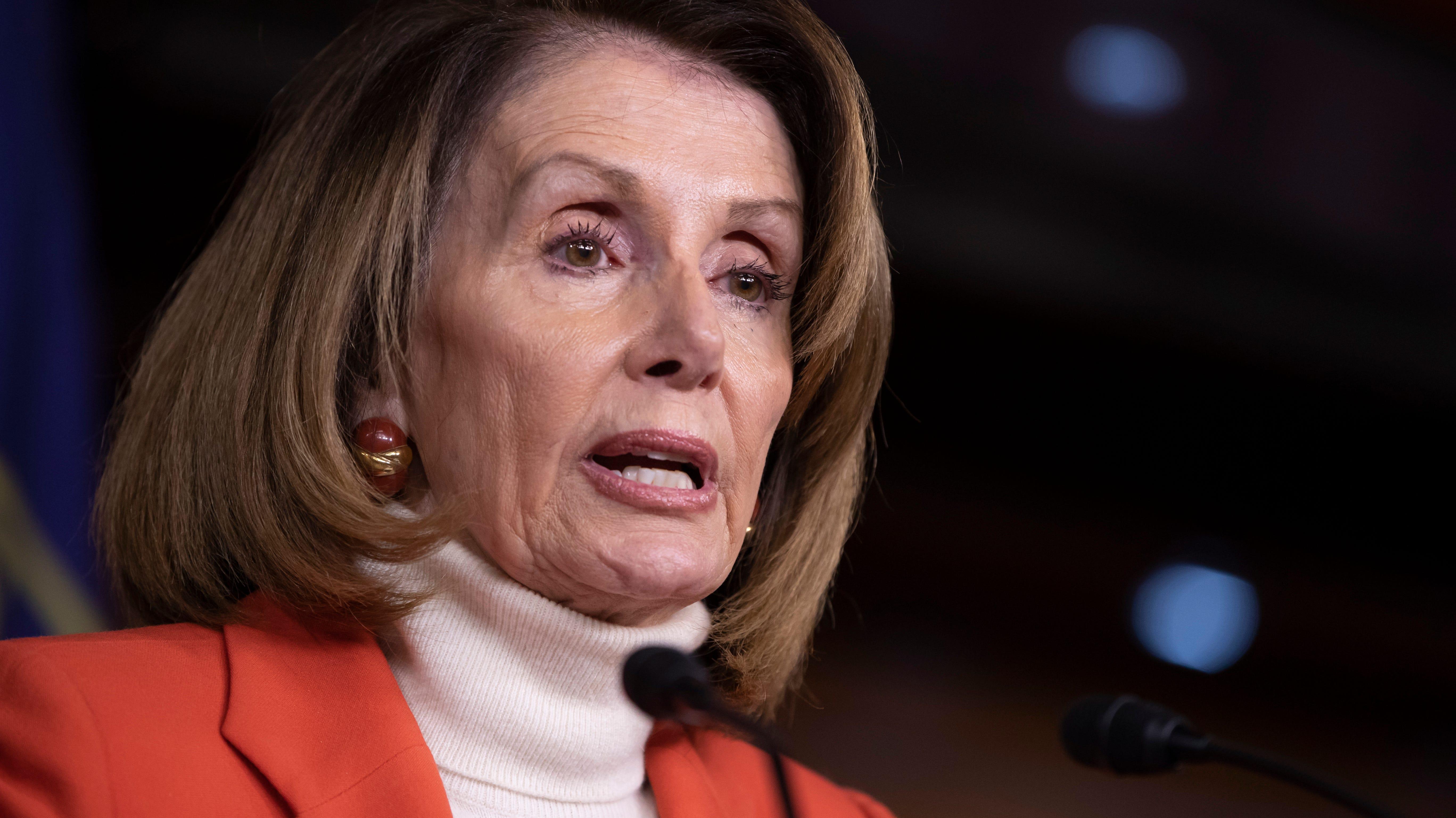 House Democratic leader Nancy Pelosi in Washington, D.C., on Nov. 15, 2018.