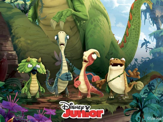 """Gigantosaurus"" is a new animated show set to air on the Disney Channel."