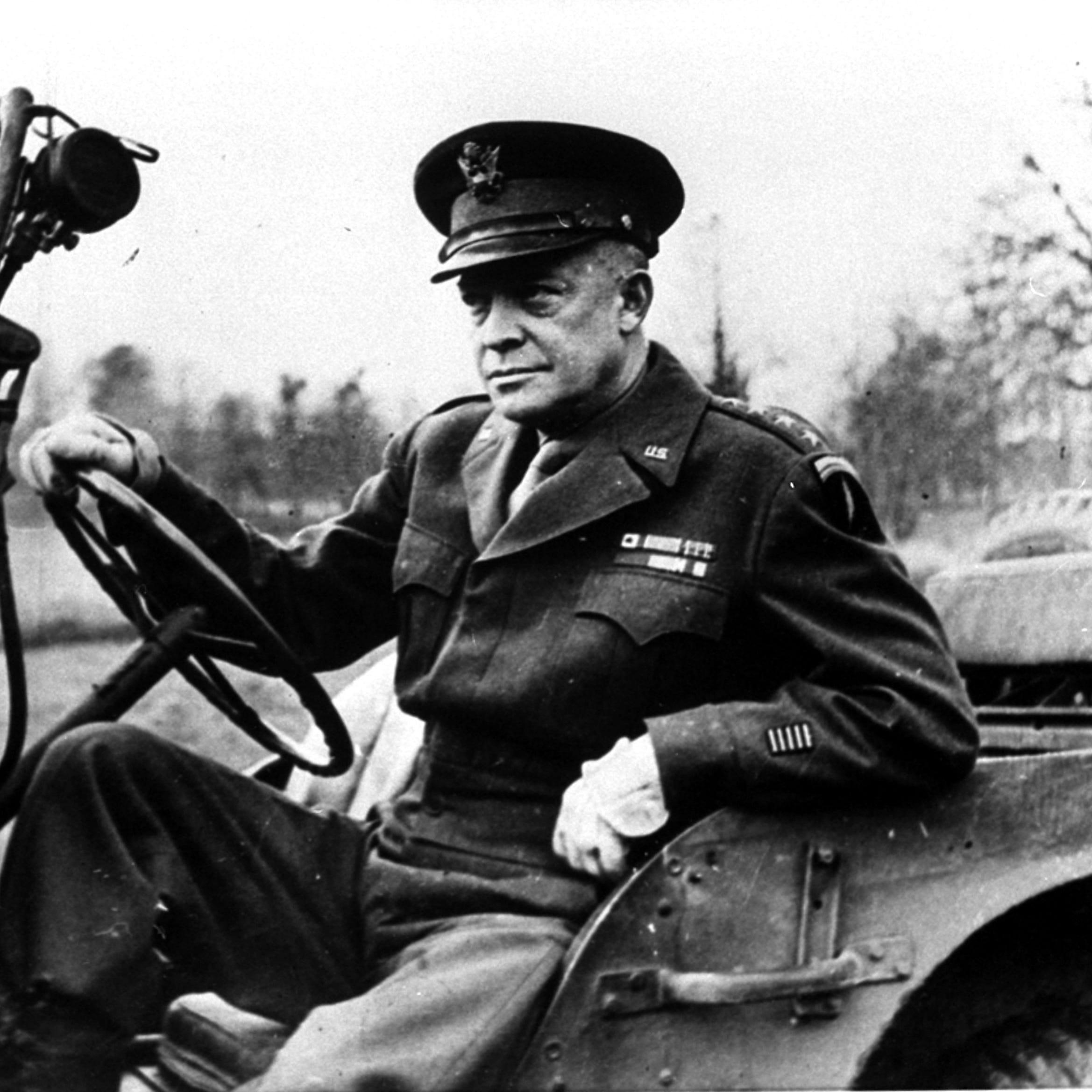 General Dwight Eisenhower, Supreme Allied...