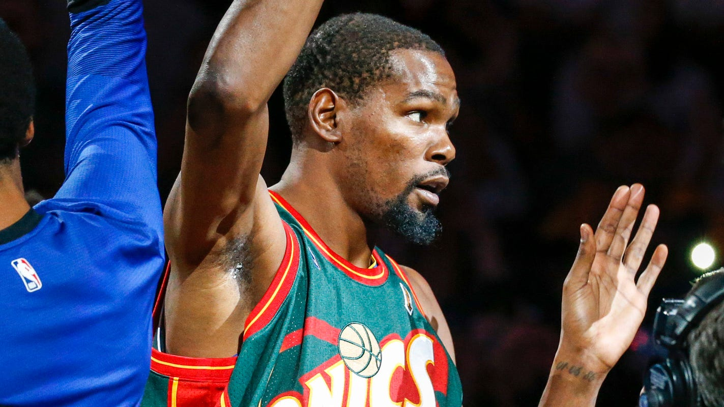 Kevin Durant would like to bring NBA team back to Seattle as an owner 585dc69f5