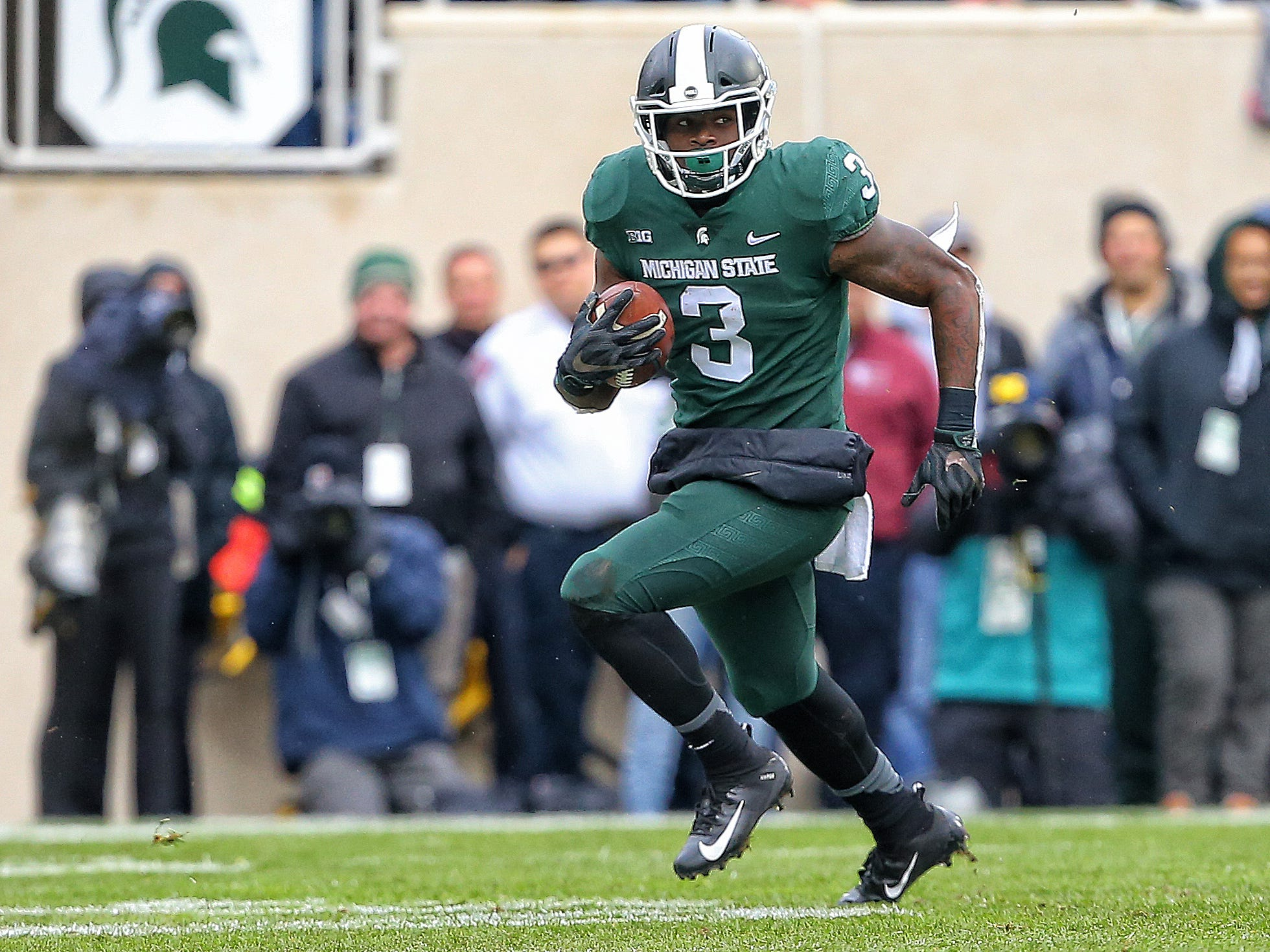 LJ Scott, RB, Michigan State