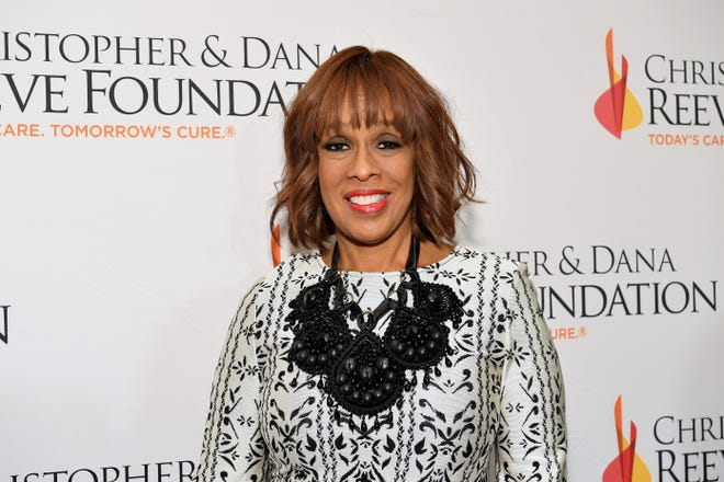 """Gayle King arrives at The Christopher & Dana Reeve Foundation """"Magical Evening"""" Gala on Nov. 15, 2018 in New York City."""