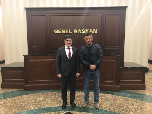 Ap Turkey Khashoggi Sean Penn I Tur