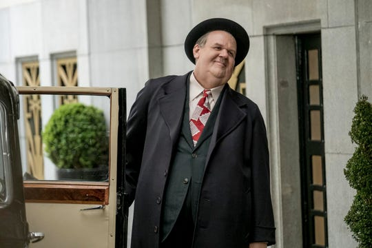 "Oliver Hardy (John C. Reilly) is as pompous as ever in ""Stan & Ollie."""
