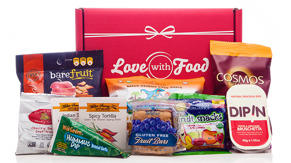 This company offers all-natural and gluten-free snack boxes.