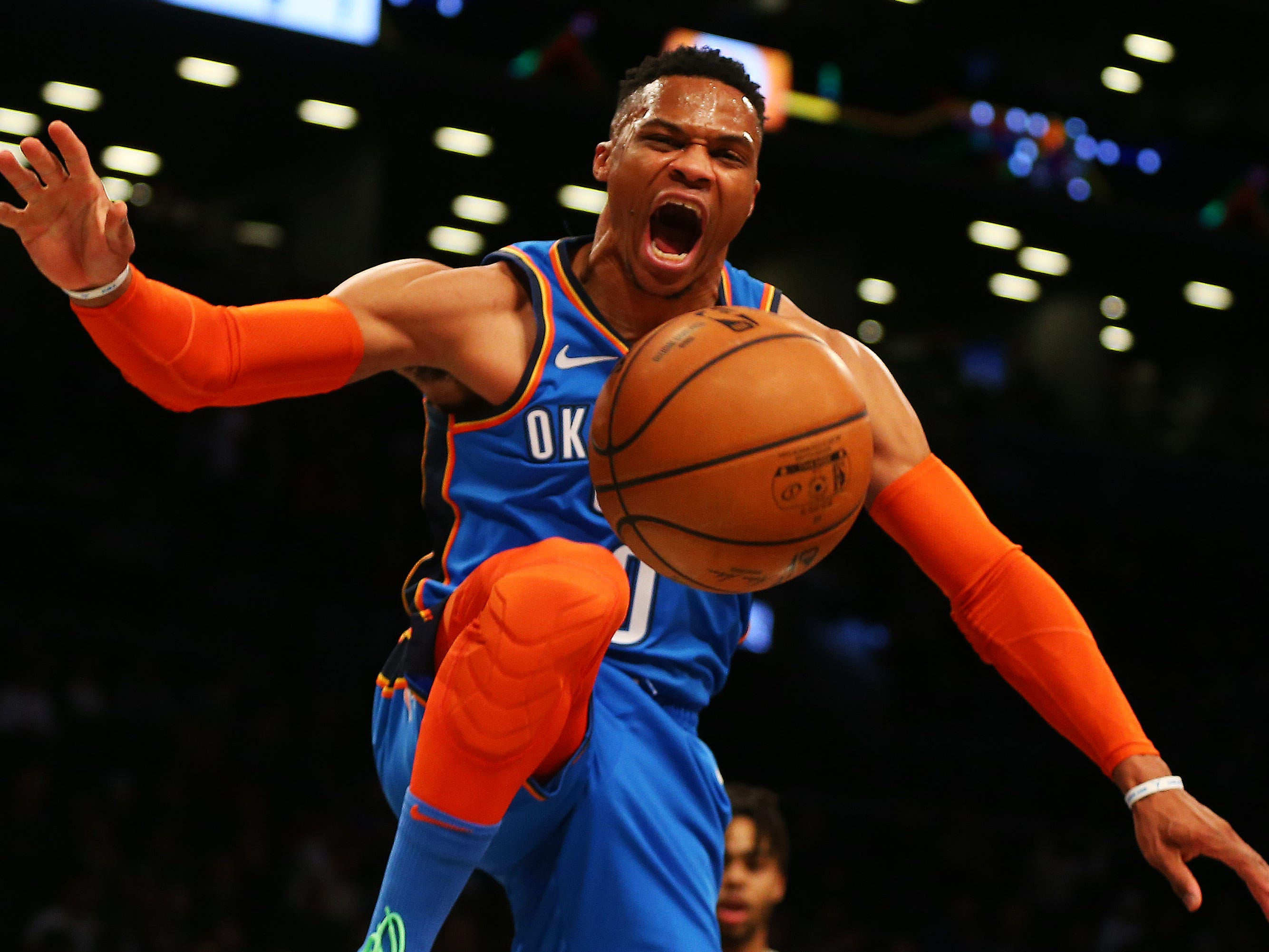 19. Russell Westbrook, Thunder (Dec. 5): 21 points, 17 assists, 15 rebounds in 114-112 win over Nets (fourth of season).