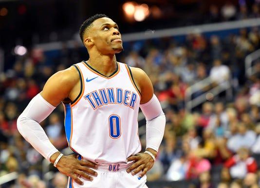 Nba Oklahoma City Thunder At Washington Wizards