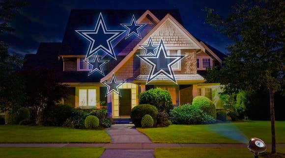 NFL team projector lights