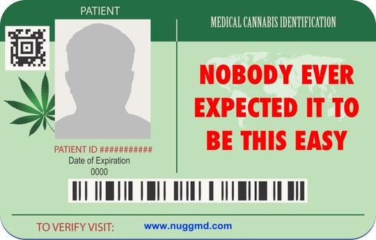 Nevadans now can apply for a medical marijuana card online.