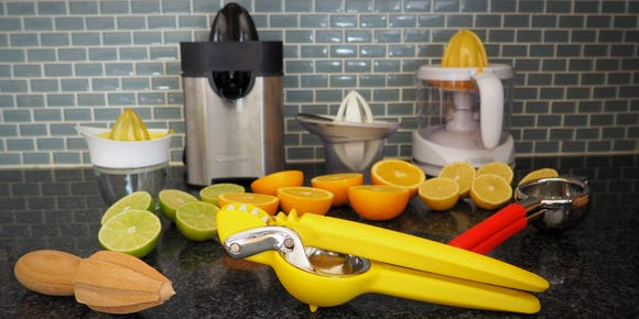 The Chef'n Fresh Force Juicer makes a great gift.