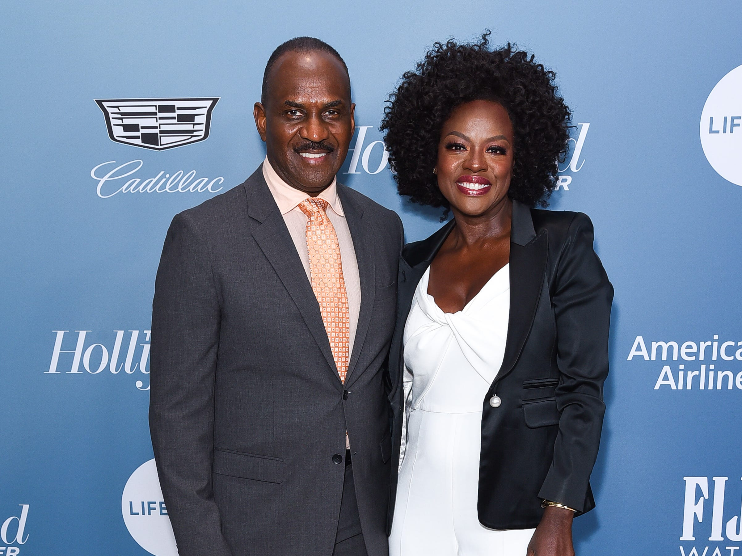 LOS ANGELES, CALIFORNIA - DECEMBER 05: Julius Tennon and Viola Davis attend The Hollywood Reporter's Power 100 Women In Entertainment at Milk Studios on December 05, 2018 in Los Angeles, California. (Photo by Presley Ann/Getty Images) ORG XMIT: 775264723 ORIG FILE ID: 1077830744