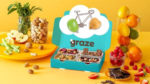 "Get ready to ""graze"" on these delicious snacks."