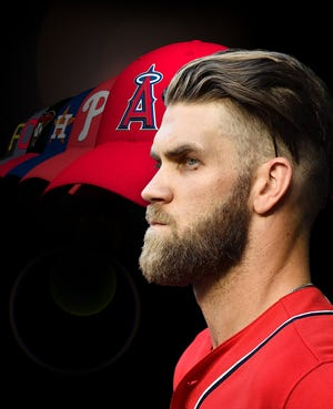 Bryce Harper is one of the premiere free agents this winter.