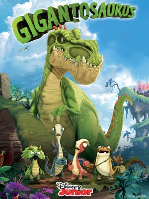 """""""Gigantosaurus"""" is a new animated show set to air on the Disney Channel in early 2019."""